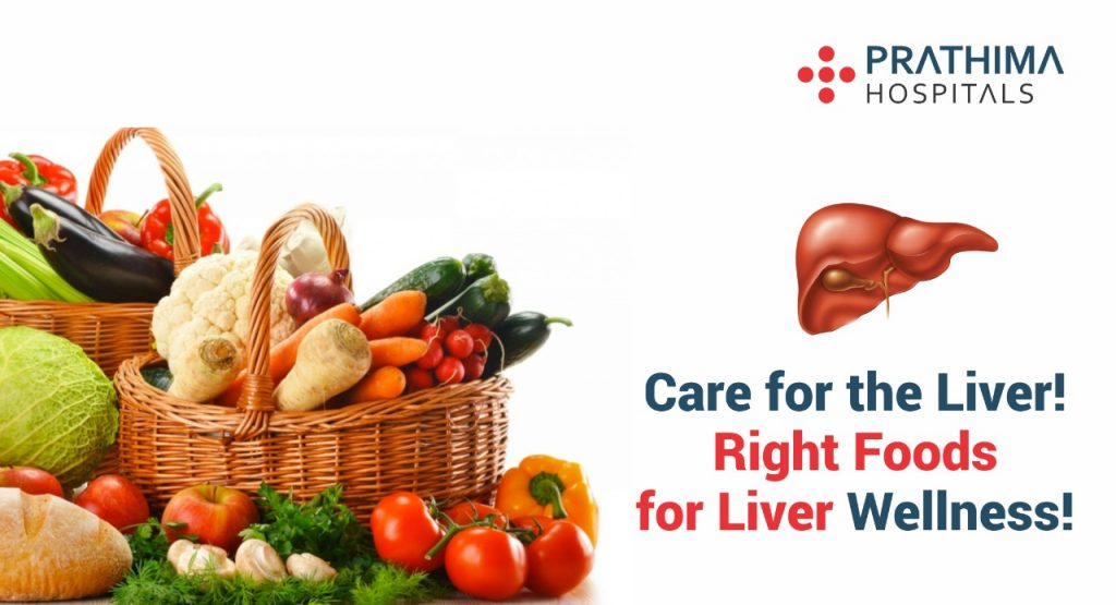 Right foods to eat for good liver