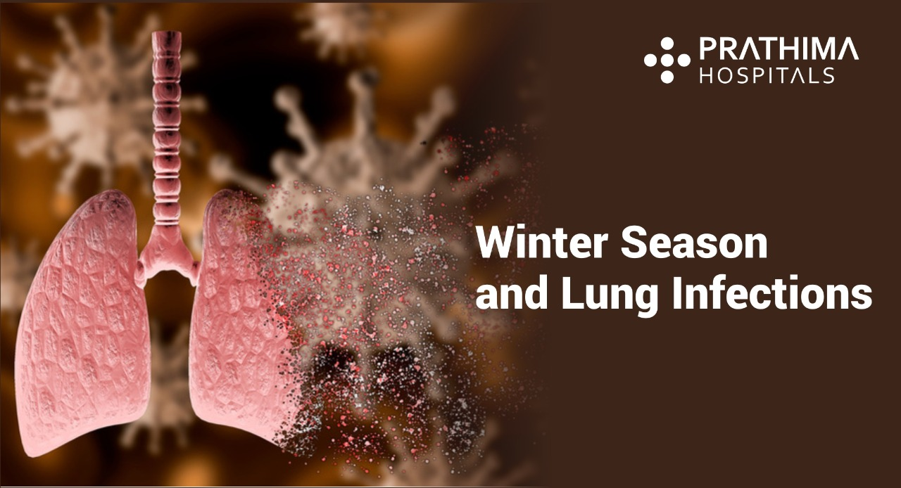 Winter season and lung infections