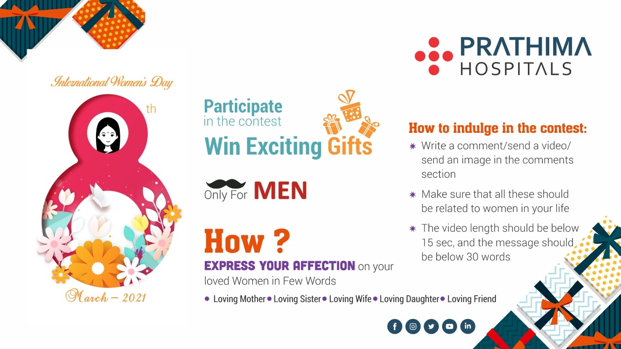 womens day contest - prathima hospitals