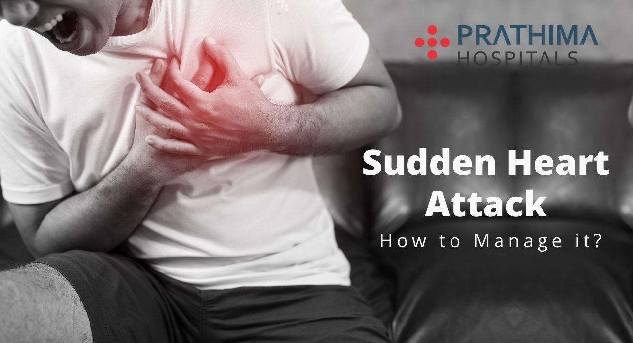 How to manage sudden heart attack